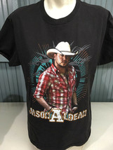 Jason Aldean 2011 Tour 2-Sided Black Large T-Shirt Country Music - $15.59