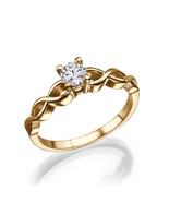 0.25 CT round CUT F /VS2 certified diamond enga... - $820.00