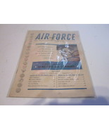 SPECIAL REPRINT APRIL 1956 ISSUE OF AIR FORCE THE MAGAZINE OF AMERICAN A... - $9.99
