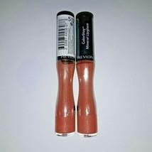 Lot of 2 Revlon ColorStay Mineral Lipglaze, Timeless Nude - $13.86