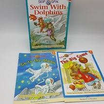 Hooked on Phonics Hop Book Orange Level 2 Lot 3 Slam Dunk Skip Swim 15 1... - $11.88