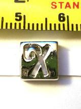 Alphabet Metal Ribbon Slip Bead For Bracelet, Necklace, Crafts image 10