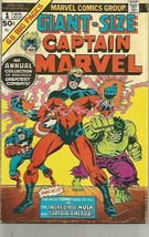 Captain Marvel Giant-Size #1 Thomas, Gil Kane 1975 1st Marvel series & P... - $38.60