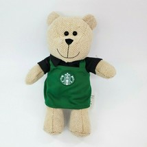 "8"" Starbucks Limited Edition 2016 Bearista Bear Plush Barista Green Apro... - $14.99"