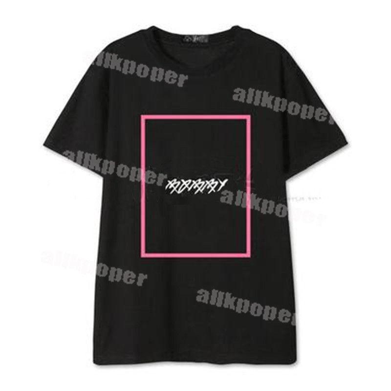 Kpop IKON BOBBY The MOBB T-shirt Solo HOLUP Tshirt Unisex Short Sleeve Cotton