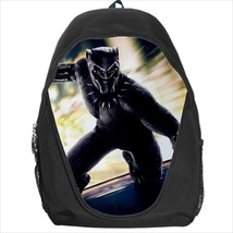 backpack school bag black panther - $39.79