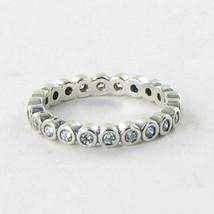 Pandora 190941CZ Ring Alluring Petite Brilliant Cubic Zirconia Sterling ... - $53.34