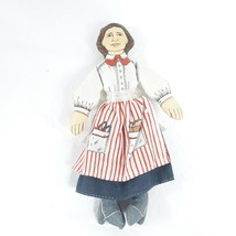 Hallmark Cards Vintage Doll Clara Barton Cloth Doll - $10.99
