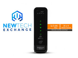 ARRIS SBG10 Wireless Cable Modem | DOCSIS 3.0 | Up to 686 Mbps - $79.99