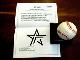 CAL RIPKEN JR. IRON MAN ORIOLES HOF SIGNED AUTO OAL BASEBALL R. ALOMAR L... - $118.79