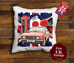 Austin Allegro Cushion Cover, Austin Allegro, Union Jack,Target, Poppy, - $9.01+