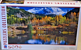 "500 Piece Puzzle ""Pond and Mountains"" [Brand New] - $45.23"