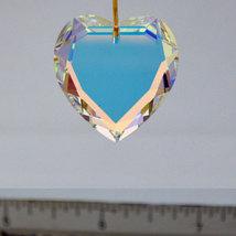 Swarovski Clear Crystal Flat Heart Prism image 5