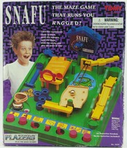 Vintage 1991 Snafu The Maze Game That Runs You Ragged from Tomy Plazers - $37.39
