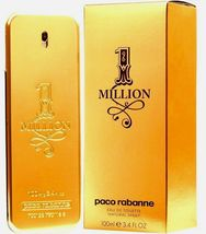 Paco Rabanne 1 Million 3.4oz / 100ml Men's Eau De Toilette Brand New Sealed - $74.94