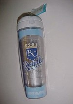 Kansas City Royals MLB AL Tervis 24 oz BPA Free Clear Water Bottle Tumbler New - $29.69