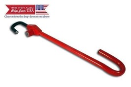 Club Pedal Steering Wheel Lock Red Cl303 Anti Theft Universal Car Truck ... - $22.59
