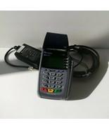 VeriFone OMNI 5100 VX510 Credit Card Reader Terminal W/ Power Supply Cord - $19.99