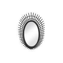 Riki Small Black Bamboo Mirror - $67.98