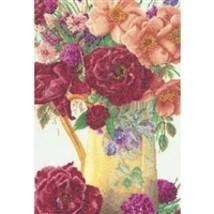 Thea Gouveneur Cross Stitch Kit - Rose Bouquet, Kit #TG3019A - $60.58