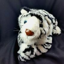 Tiger Plush Bengal White Stuffed Animal Toy Doll Blue Eyes Wild Beta Toys    - $34.99