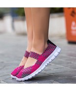 Women Sneakers 2018 Shoes Casual Woman Tenis New Breathable Summer Slip ... - $26.99+