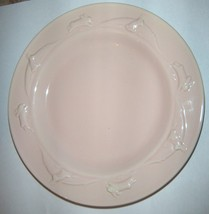 Pink Hallmark Rabbit Plate ( 3 Plates Available) (3 Colors) Sold Seperately - $1.98