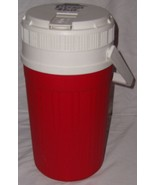 Igloo Cooler Vintage 80s Pizza Hut Logo Red White Half Gallon Great Coll... - $19.79