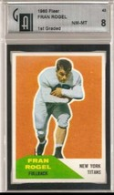 1960 Fleer #43 Fran Rogel GAI 8 - $23.75