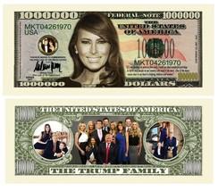 Pack of 100 - Trump Presidential Re-Election Dollar Bills Melania 1 Mill... - $19.75