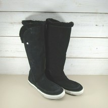 Converse Chuck Taylor All Star Knee High Leather Knee Boot Hook Loop Close - $65.31
