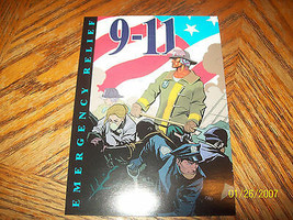 9-11 Emergency Relief Benefit Book Promo Postcard - £4.84 GBP
