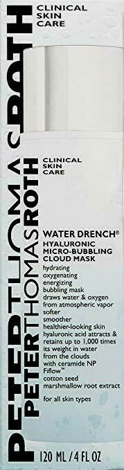 Primary image for Peter Thomas Roth Water Drench Hyaluronic Micro-Bubbling Cloud Mask 4 oz - 120ml