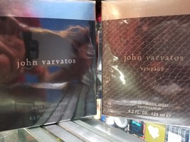 John Varvatos or VINTAGE Cologne 4.2 oz 125ml EDT Spray for Men * SEALED... - $76.99