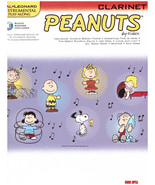 Peanuts Snoopy Sheet Music Clarinet Charlie Brown Theme, Linus and Lucy,... - $12.34
