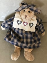 """Boyds Plush Bear Philomena Archive Collection 1995 13"""" Tall - $8.79"""