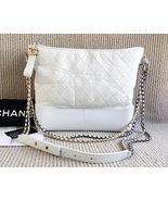 AUTHENTIC AUTH CHANEL 2017 LIMITED EDITION RUNWAY LARGE GRABEIELE BAG WH... - $4,799.00