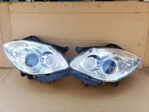 08-12 Buick Enclave Hid Xenon AFS Headlight Lamps LH & RH - POLISHED
