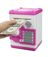 HUSAN Great Gift Toy for Kids Code Electronic Piggy Banks Mini ATM Elect... - $23.28