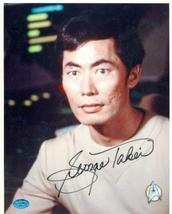 George Takei autographed 8x10 Photo (Star Trek Sulu) Image #1 - $85.00