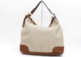 AUTHENTIC GUCCI Diamante Shoulder Bag Beige x Brown 282338 - $700.00