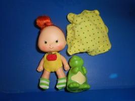 Strawberry Shortcake Doll Apple Dumplin' With Tea Time Turtle Dumpling V... - $24.63