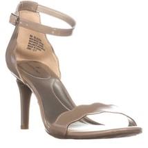 Bandolino Jeepa Ankle Strap Stiletto Sandals, Light Natural - $23.99