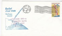 AEROBEE 150-A WHITE RATS ROCKET FIRED FROM WALLOPS ISLAND VA DEC 5 1967 - $2.68