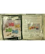 Needlecraft Ala Mode Fish Can Holder Juice Box Holder Plastic Canvas Kit... - $75.00