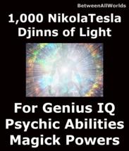 1,000 Djinns Of Light Grant High I.Q. All Wishes & Wealth Betweenallworl... - $149.39