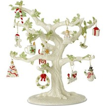 Lenox Ornament Tree & 21 Miniature Ornament Sets Winter Delights Snow Pa... - $2,128.50