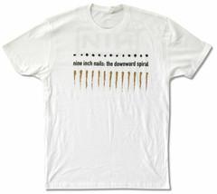 Nine Inch Nails-Downward Spiral-XXL White T-shirt - $22.24