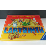 LABYRINTH GAME RAVENSBURGER 2007 New Sealed Race for Treasures in a Movi... - $14.84