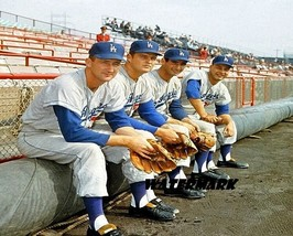 MLB Los Angeles Dodgers Craig Drysdale Koufax Podres Color 8 X 10 Photo Picture  - $5.99